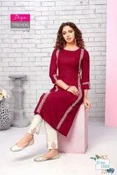 Diya Trends Classy Kurti with Pant Pair Collection