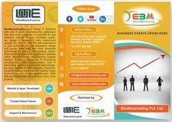 Based On Package Brochure Design Service - WebMedia Experts