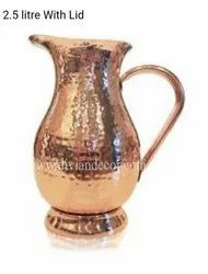 Pure Copper Jugs