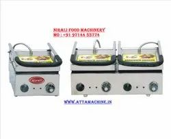 Nirali Stainless Steel Sandwich Making Machine, For Hotel, Number Of Slices: 2