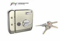 Godrej Locks Ultra Tribolt 1CK (Satin Nickel)