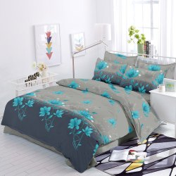 Pure Cotton Bed Sheet With Pillow Covers