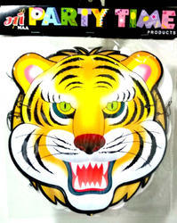 Tiger Party Mask