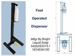 Touchless Foot Pedal Operated Dispenser
