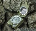 Military Lensatic & Prismatic Sighting Compass With Pouch