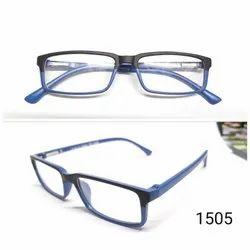 Tr 90 Demo Lens Rectangle Eyewear Fashion Optical Frame 1505