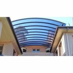 Blue Polycarbonate Structure Shed