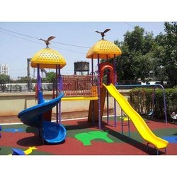Multiplay Playground Slides