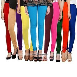 KP Cotton Lycra Churidar Leggings, Age Group: 16 To 80, Free Size