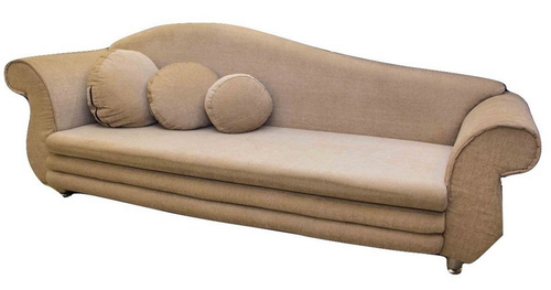 Hansa Lounger Sofa With Beige Color Upholstery