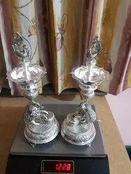 Brass Samai for Puja