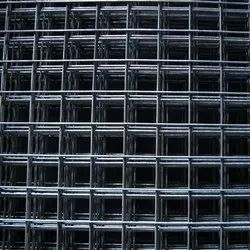 Iron square Welded Wire Mesh, For Industrial, Packaging Type: Roll Form