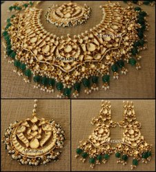 Kundan Bridal Necklace Set High Quality