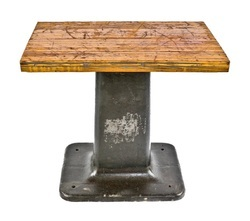 Industrial Heavy Duty Cast Iron Machine Base Coffee Table