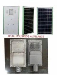 Solar Integrated Street Light Housing