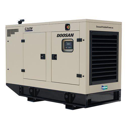 Doosan Silent Generator Set, Power: 600 & 625 KVA | ID: 17962444233
