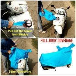 Semi Automatic Scooty Body Covers, Size: Universal