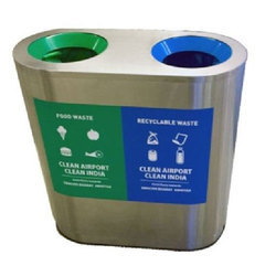 Stainless Steel Recycle Bin