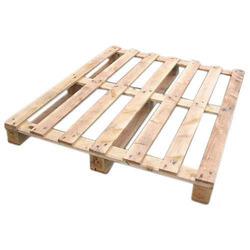 Rubber Wooden Pallet