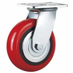 PU Trolley Wheel Set 6 x  2 ( 2 - Fixe & 2 - Moveable )
