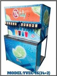 YVEC-16 Soda Shop Machine
