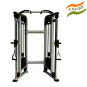 Stainless Steel Functional Trainer Cable Machine, For Gym