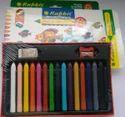 Upto 24 Colors Rabbit 12 Shade Plastic Erasable Crayons, 15 Shades , Packaging Type: Packet