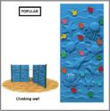 Aqua Climbing Wall