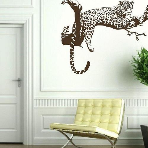 Beautiful Cheetah Wall Painting