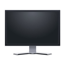 Black Computer LED Monitor, Screen Size: 18.5