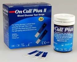 On Call Plus Glucometer Strips 50T