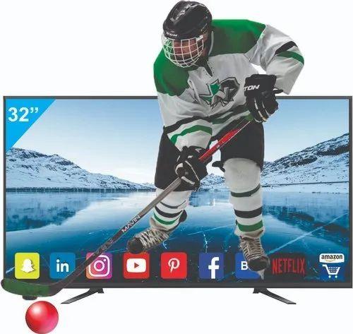 32 Inch Smart 4K Ready Sound Bar LED TV