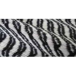 Pencil Stripe Wool Fabric
