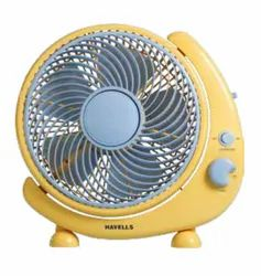 Crescent Yellow Personal Fan