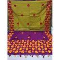 Stylish Matka Saree, 5.5 M Separate Blouse Piece