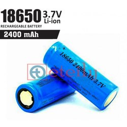 Li-ion Battery Cell 2400 mAh 18650