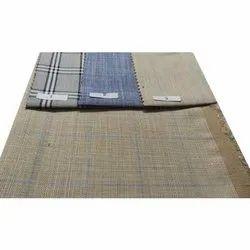 Kabali Check Fabric, GSM: 100-150