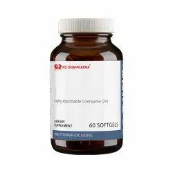 K.D.Chem Pharma Highly Absorbable Coenzyme Q10 Dietary Supplement
