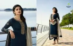 Vinay Fashion's Silk Georgette with Georgette Dupatta Partywear Salwar Suits
