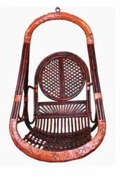 D Red Netar Wood Single Jhula, Size: L27 X W30 X H45 Inch