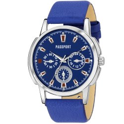 Blue Mens Analog Watch