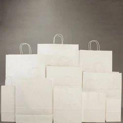 White Kraft Paper Bags
