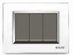 Valencia Series White Switch Plate