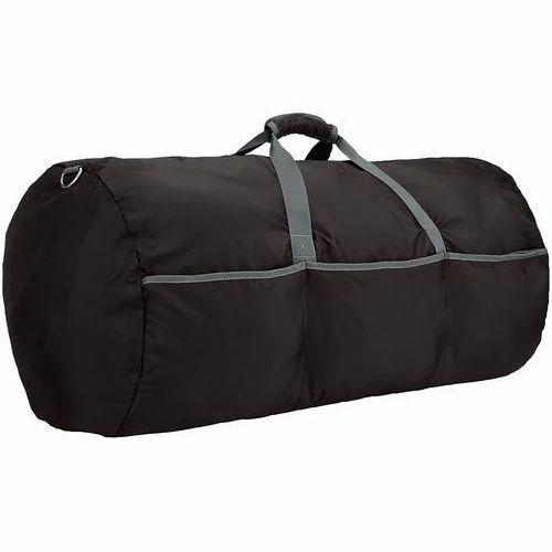 14ca4bfe99e7 Rainbow Black Nylon Duffle Bag