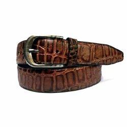 Leather Printed Mens Belt