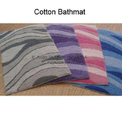 Printed Hand Made Cotton Bathmats