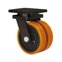 Heavy Duty Castor and Double PU Wheels