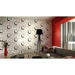 Horizontal Non-Woven Designer Wallpaper