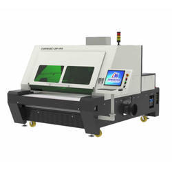 Double Heads Asynchronous Laser Cutting Machine CMA1612C-DF