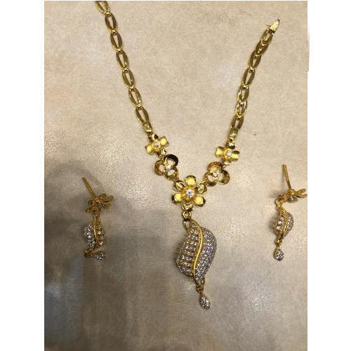 ddc3b49c8ac Ladies Designer Gold Necklace Set at Rs 60000 /set | Gold Necklace ...